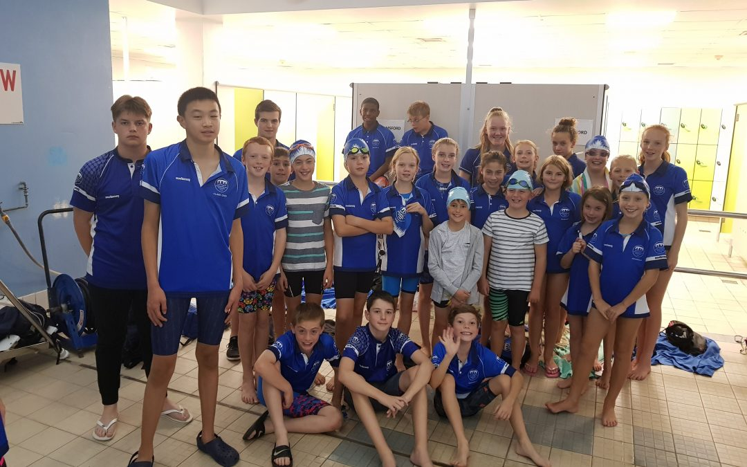 Mini League swimmers achieve well deserved win
